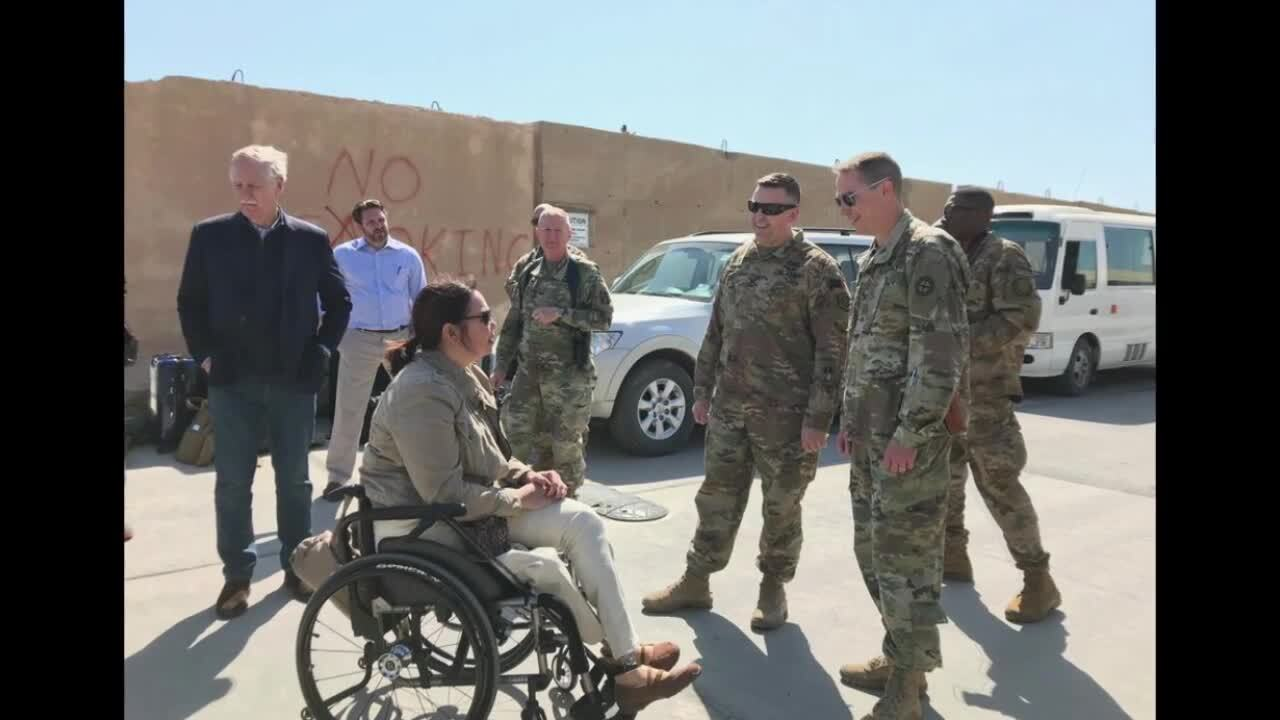Duckworth returns from Iraq, says ISIS still exists, but is more insidious now