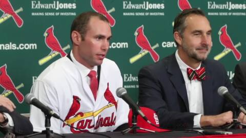 Highlights from Paul Goldschmidt's introductory news conference with the St. Louis Cardinals