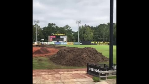 Southern Miss' Pete Taylor Park gets new turf