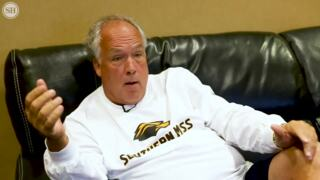 USM basketball coach Doc Sadler says new scheduling model is a 'double thumbs down'