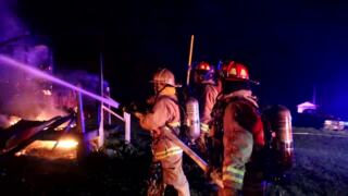Two injured in early morning house fire