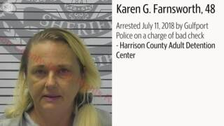 South Mississippi felony arrest mugshots from July 11, 2018