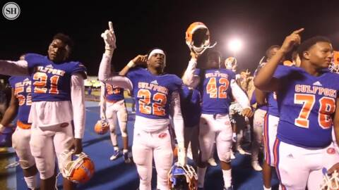 'This one's for Zae.' Gulfport football claims its 3rd straight region title.