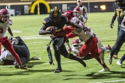 Our favorite photos from Peach County-Jackson high school football game