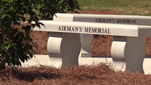 Widow of man honored at Robins memorial service: 'This is one of the best assignments we had.'