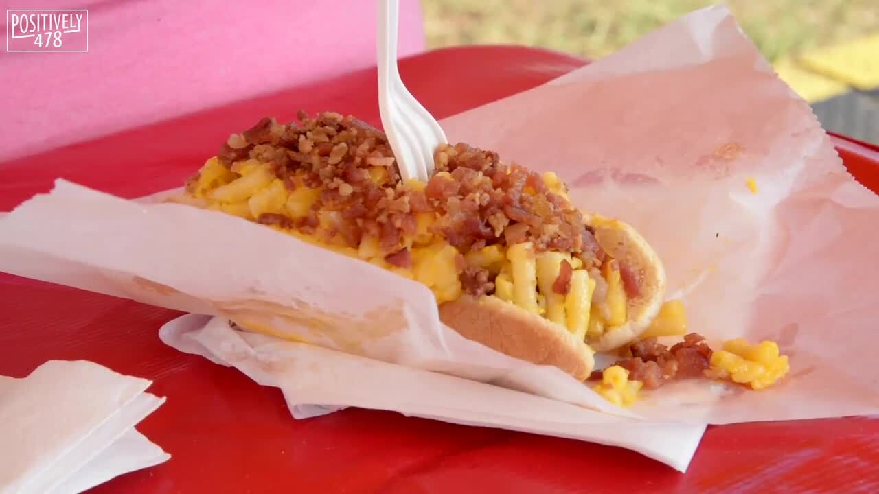 From bacon hot dogs to classic cotton candy, the Georgia Fair is a foodie's paradise