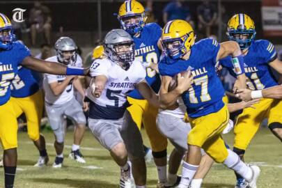 Our favorite photos from Stratford's 24-7 win over rival Tattnall