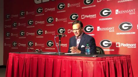 UGA basketball head coach shares highs and lows of opening win against Western Carolina