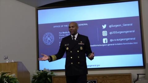 Surgeon General offers solutions to opioid epidemic