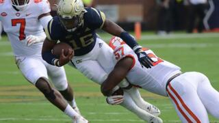 Our favorite photos from Georgia Tech's football game against Clemson