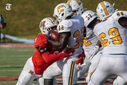 Our favorite photos from Mercer Bears-Chattanooga Mocs football game