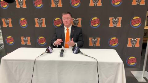 Mercer head coach Drew Cronic discusses his expectations for the team