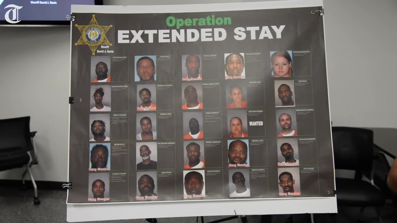 'Walmarts for drugs.' 24 jailed, $325K worth of drugs seized in stings at west Macon motels