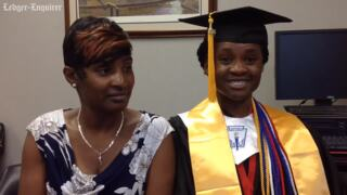 Central High School senior, mother react to receiving full scholarship from Yale University