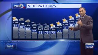 Columbus, Phenix City weather for July 20 from WRBL's Bob Jeswald