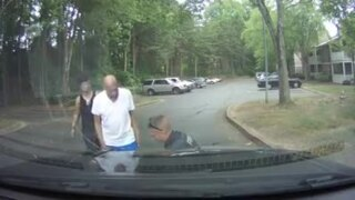 Watch a Georgia police officer save an infant girl from choking