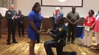 Alabama cop proposes to girlfriend at police academy graduation
