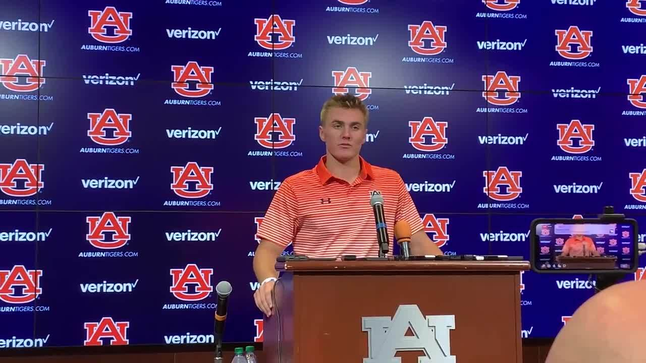 Newly named Auburn QB Bo Nix speaks to media for first time: 'He's not your normal freshman'