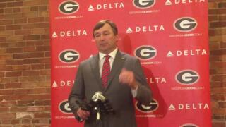 Kirby Smart explains how coaches project players' weights