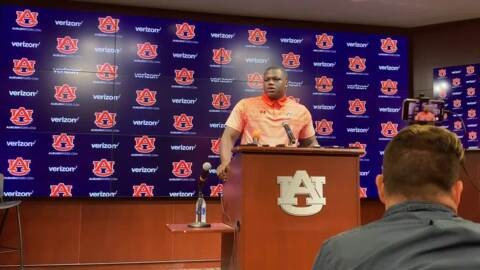 'Words can't even explain': Marlon Davidson, Auburn Tigers to be Florida's homecoming game