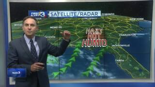 Columbus, Phenix City weather for June 19 from WRBL's Bob Jeswald