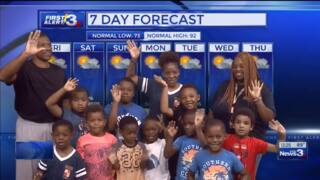 Columbus, Phenix City weather for July 14 from WRBL