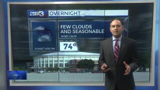 Columbus, Phenix City weather for July 11 from WRBL's Bob Jeswald