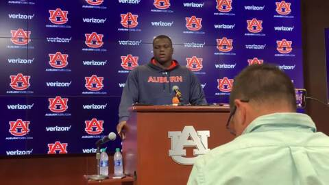 'Being the best I can be': Auburn defensive end Marlon Davidson on his big game vs. Arkansas