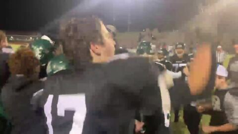 Raw video: Calvary Christian celebrates first football state title