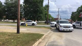 Muscogee County Sheriff's Office car involved in wreck at 9th Street and 9th Avenue