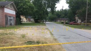Columbus police investigating shooting on Winston Road; over 70 markers on scene