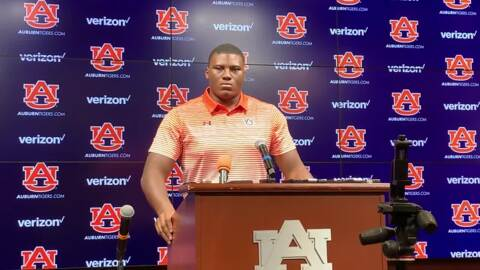 'We've got a lot of room to improve,' says Auburn's Derrick Brown ahead of Mississippi State