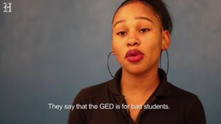 Miami Jackson Adult Education Center student talks about the GED program