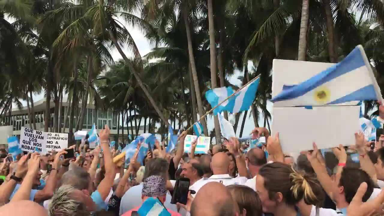 Argentina, Uruguay, Colombia head to polls as problems plague the region