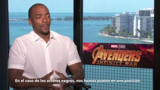 Entrevista con Anthony Mackie sobre Avengers Infinity War