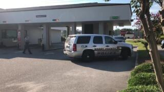 Police respond to bank robbery in Little River