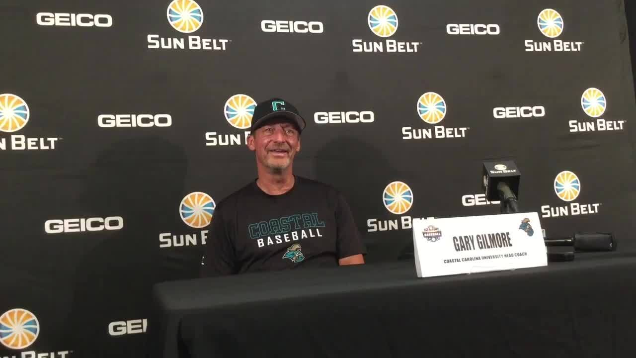 Coastal Carolina faced elimination against the Sun Belt's top seed. See how they fared
