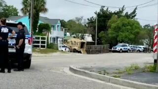 SWAT on scene at a home in Myrtle Beach