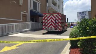 Police respond after someone falls from oceanfront resort in Myrtle Beach