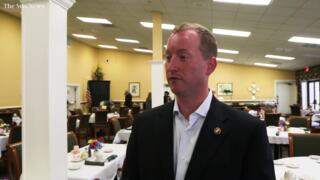 John Warren speaks to Myrtle Beach residents