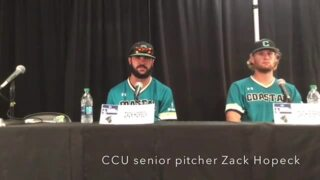 Coastal Carolina's baseball season comes to an end