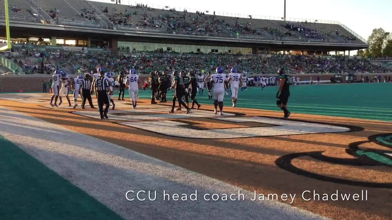 CCU Football Notebook: How the end of a streak halted the Chants' comeback bid