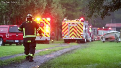 Family escapes Georgetown generator fire, but home damaged