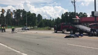 2 ejected in crash on 501 near Aynor