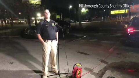 Hillsborough County Sheriff's Office gives update on shooting investigations