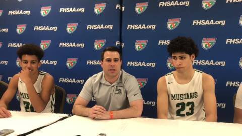 Lakewood Ranch High boys basketball team one win from history after dominating performance