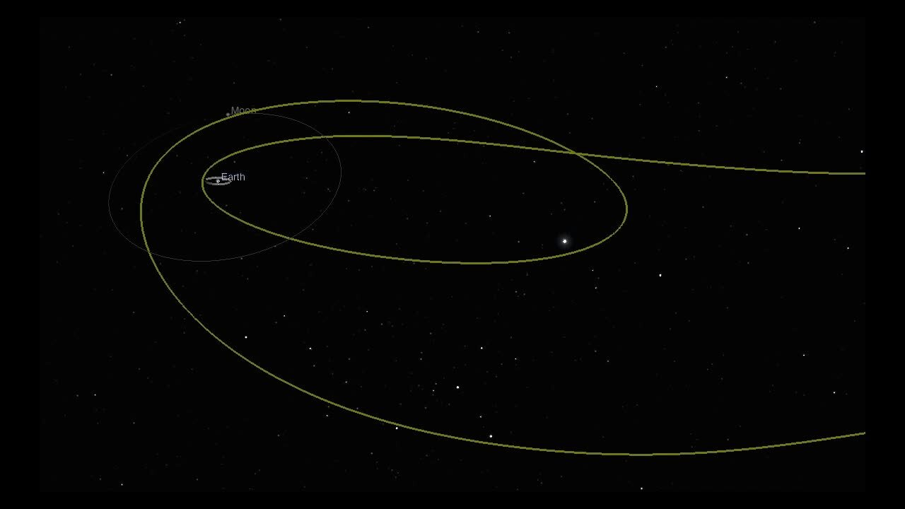Mysterious space object that zoomed past Earth turns out to be from humans, NASA says