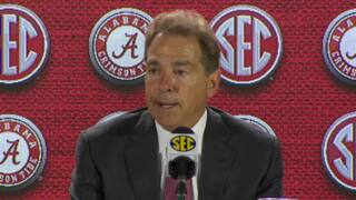 Saban: 'We have a lot of rebuilding to do'