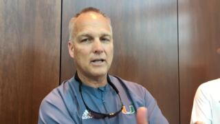 UM Coach Mark Richt discusses final spring scrimmage of 2018
