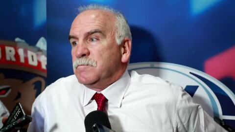 Coach Quenneville's postgame comments after the Panthers' OT loss to the Capitals